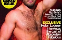 Sacha strips off for Elton John AIDS charity appeal